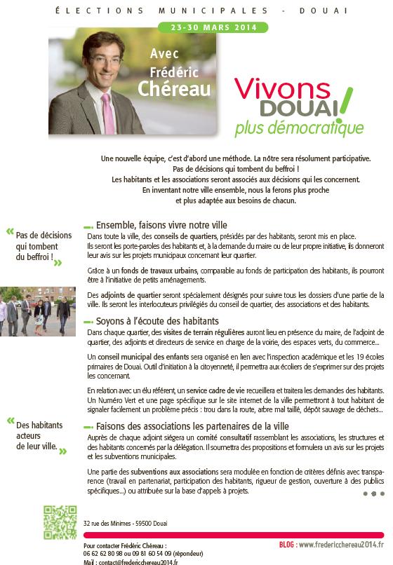 Vivons Douai_plus démocratique_recto
